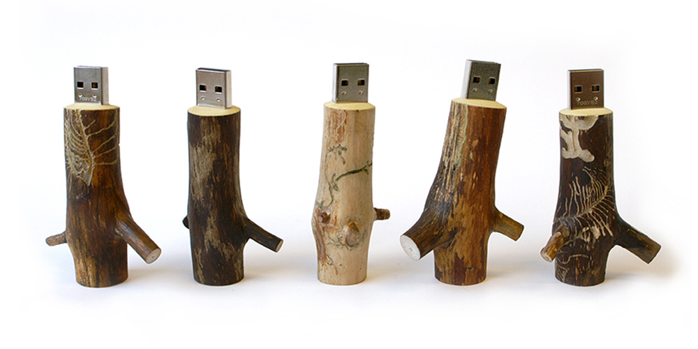 Wooden USB Stick 01