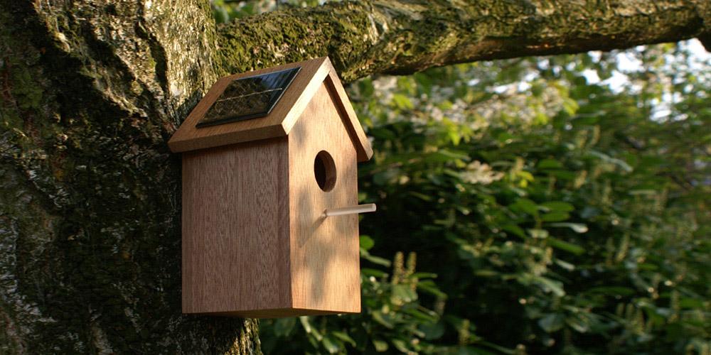 Solar Birdhouse 01