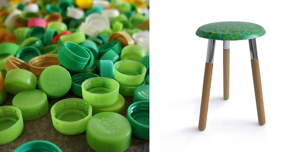 Bottlecap Stool