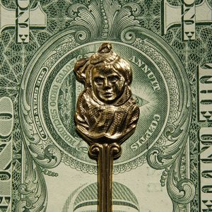 TSP money clip | Girl