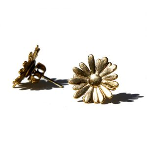 Daisy Earrings Gold