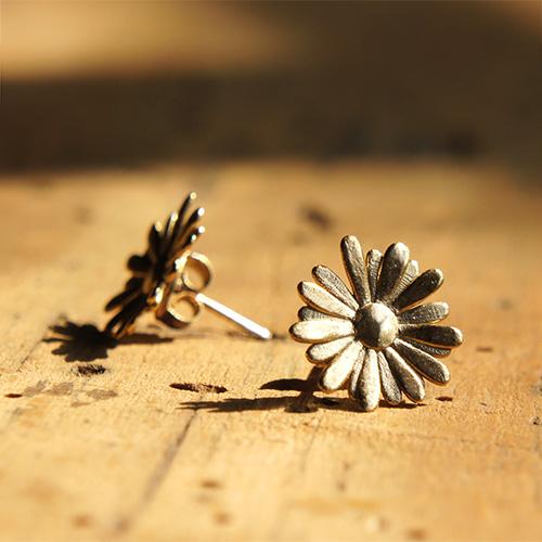 Daisy Earring Gold