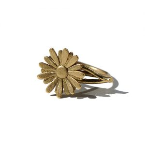 Daisy RIng Gold