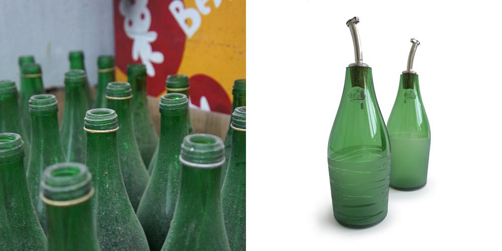 Waterbottle Oil & Vinegar set