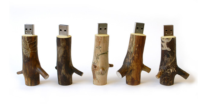Wooden USB Stick