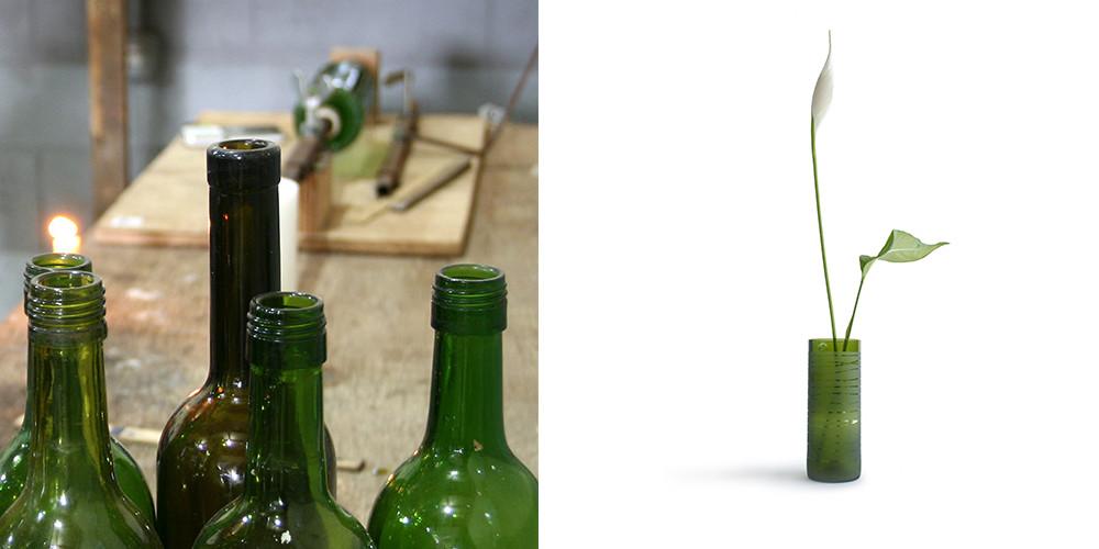 Winebottle Vase